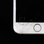 cracked cellphone